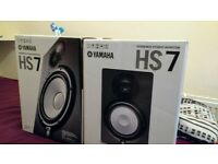 Mint Yamaha HS7 Monitors
