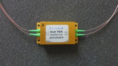 Dual Mems Sercalo Voa 5v Variable Optical Attenuator 1240-1610nm Va2of9t1216