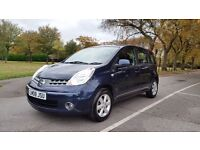 NISSAN NOTE 1.6 ACENTA 08 PLATE 2008 3F/KEEPER 100,000 MILES FULL SERVICE HISTORY AIRCON ALLOYS 5DR