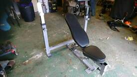 Powertec Olympic weights bench