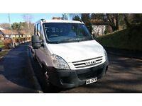 IVECO DAILY BEAVERTAIL CREW CAB RECOVERY TRANSPORT 35C12