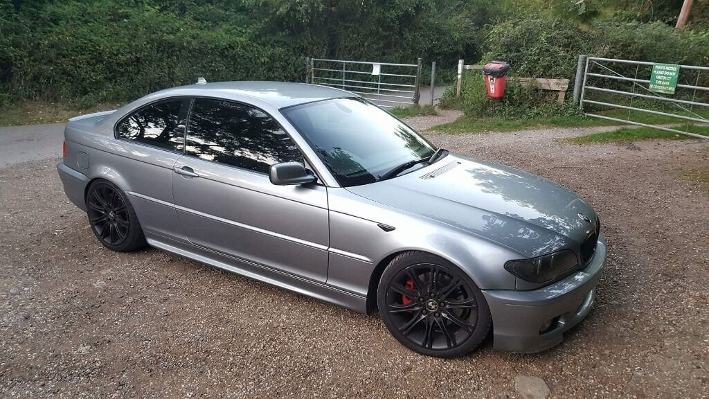 2004 Bmw E46 3 Series 330ci 30 Facelift Coupe Grey Sport In