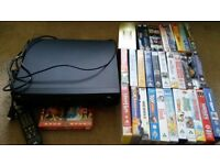Vhs video player and videos