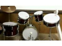 Percussion plus 5 piece Drum kit