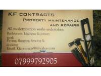 KF contracts building contractor