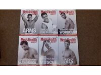 Mens Exercise and Diet books £5- £10 each.