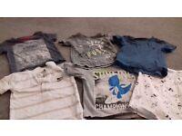 Boys t shirt bundle £6 12mth -18/24mth .