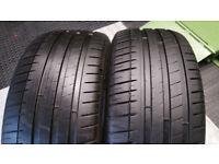 235 45 17 2 x tyres Michelin Pilot Sport 3