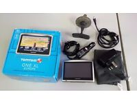 TOMTOM ONE XL SAT NAV EUROPEAN MAPS AUTOMOTIVE GPS RECEIVER SATELLITE NAVIGATION USB