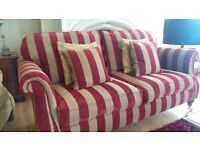 3 seater sofa made by Alstons. in excellent condition rarely sat on