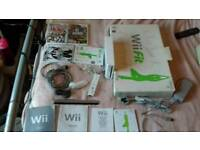 wii console + extras