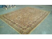 """BEAUTIFUL ANTIQUE/VINTAGE RUG, VIBRANT COLOURS, 140""""X108"""", MINOR REPAIRABLE WEAR (SEE PICTURES)"""