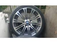 BMW Mitie Alloy wheels