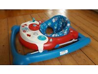 Graco baby walker with music and lights