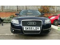 . Audi a6 with Full mot 12 months fsh leather in great condition can px Bmw