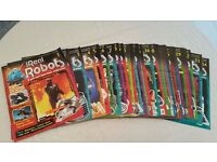 Ultimate Real Robots Magazine Issues 1-34 Just Book, Issues 14, 17, 23, 24, 35-46 Brand New Unopened
