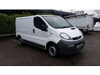 Vauxhall Vivaro 2005 1.9DTI 6 Speed SWB Panel Van Low miles