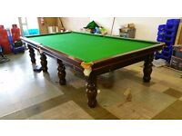 12x6 full size snooker table as new
