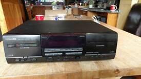 Kenwood twin tape deck recorder KXF-W4010