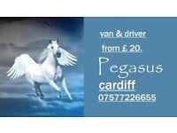 Pegasus Luton Van & Driver