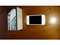 immaculate i phone 4 with charger and box