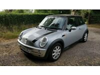 Mini with 1 year MOT. Great runner. Bluetooth stereo, air con, sunroof.