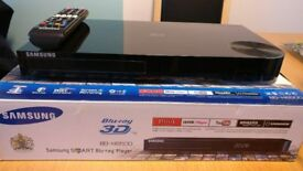 Samsung BD-H6500 3D Smart Blu-ray / DVD Player with WiFi Built In & 4K Upscaling