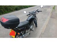 125cc motorycle, yamaha ybr, 125, 12months mot