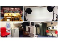 £60/Day Photo Studio for Hire Professional Photography Video Film Location CHEAP