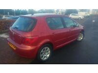 peugeot 307 20l hdi diesel 54 plate bargain 350 no offers might swap for 7 seater