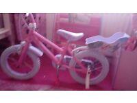2 brand new disney princess bikes