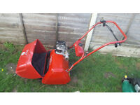 Suffolk Punch 17S cylinder self propelled lawnmower