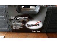 Tile cutter - manual
