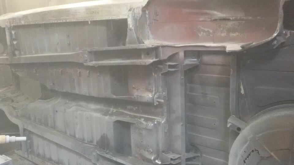Trockeneisstrahlen Sandstrahlen Unterbodenschutz entfernen Mobil in Baden-Württemberg - Waldshut-Tiengen