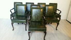 Set of Eight Boarding Room Chairs