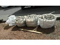 3 and half bulk bags of rubble