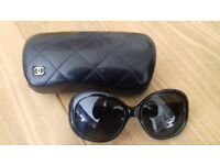 Chanel sunglasses with hard case