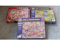 3 jigsaw puzzles