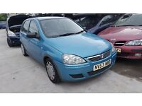 2004 VAUXHALL CORSA DESIGN 16V (MANUAL PETROL)- FOR PARTS ONLY