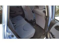 2004 Honda Jazz 1.3 Blue 5dr hatchback manual Petrol MOT Sept2017 full service history 2keys