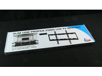 """L Mount Fixed LCD TV Wall Brackets - 32"""" to 60"""""""