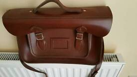 Leather Satchel (John Lewis)