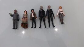 Doctor Who Action Figures - Series 6 Set