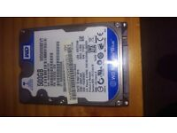 WD Scorpio Blue 500gb Laptop HardDrive