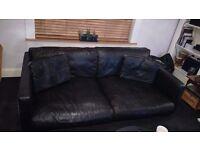 Free Large leather sofa