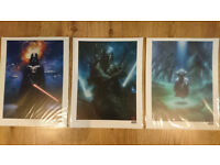 Star Wars Limited Edition Prints