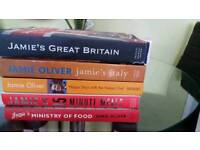 5 Jamie Oliver cook books