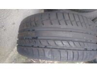 Cheap tyre, 255 35 19 cooper