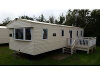 Deluxe 3 bedroom caravan on Thorpe park in cleethorpes. Situated 1minute from a lovely beach
