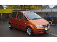 fiat idea good bargain little car cheap insurance cheap to run mad coulor